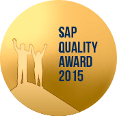 SAP Quality Award 2015. Bronze