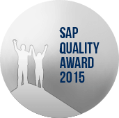 SAP Quality Award 2015. Silver